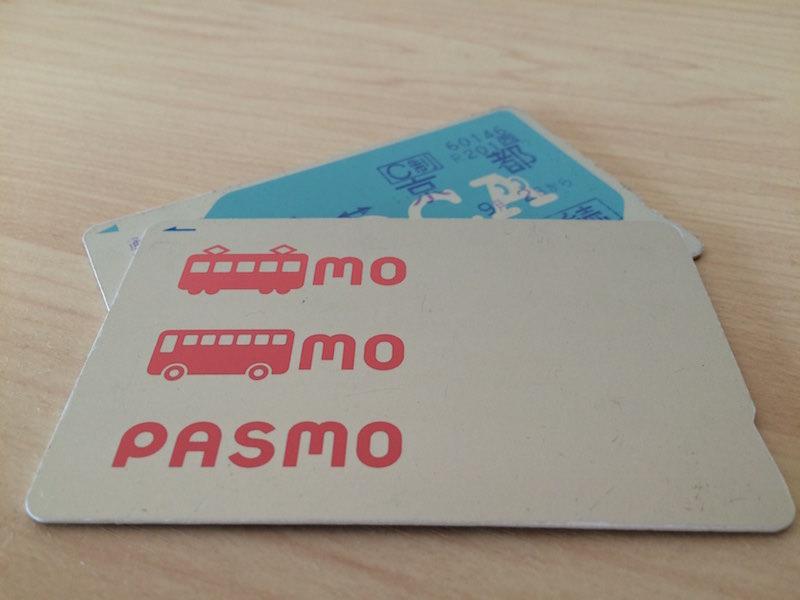 交通ICカードのPasmoとICOCA