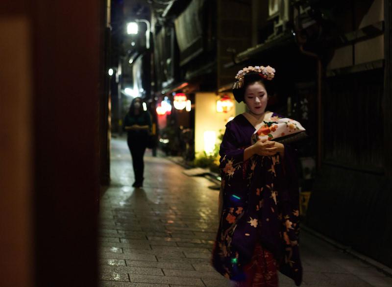 京都の舞妓さん